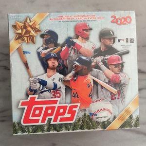 2020 Topps Holiday Mega Box MLB